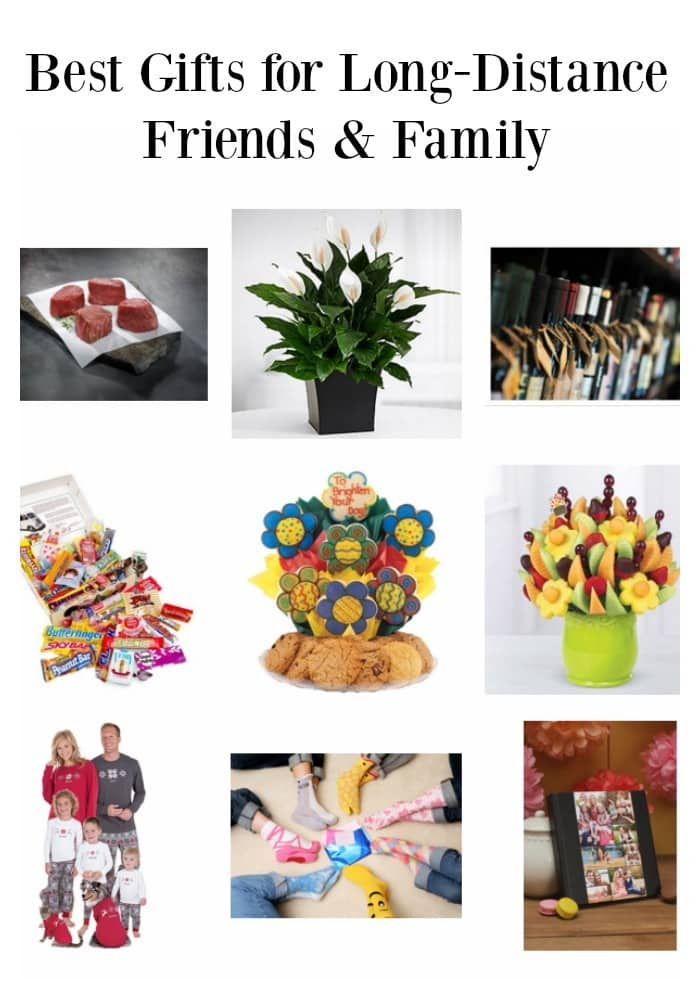 If you live far from friends or family & want to send a gift, the shipping costs are crazy! So, here's the best gifts for long-distance friends and family. #giftguide #giftideas #friends #family via @wondermomwannab