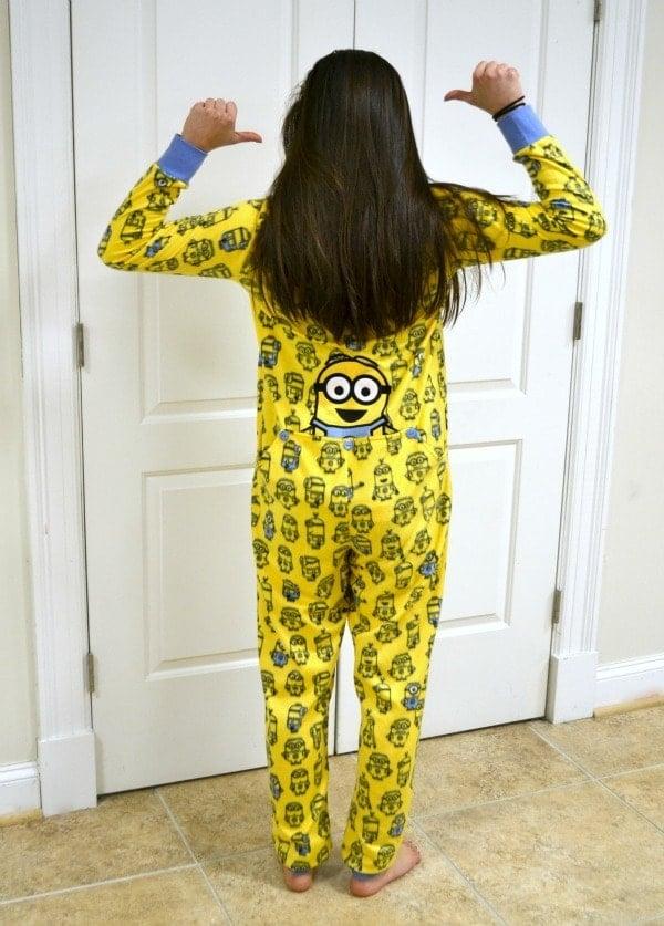 Drop Seat One Piece Pajamas