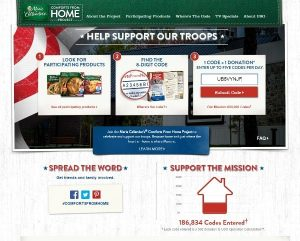 Send Comforts from Home to Our Troops