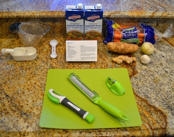 Ginger Carrot Soup Ingredients