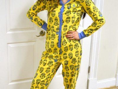Minions One Piece Pajamas