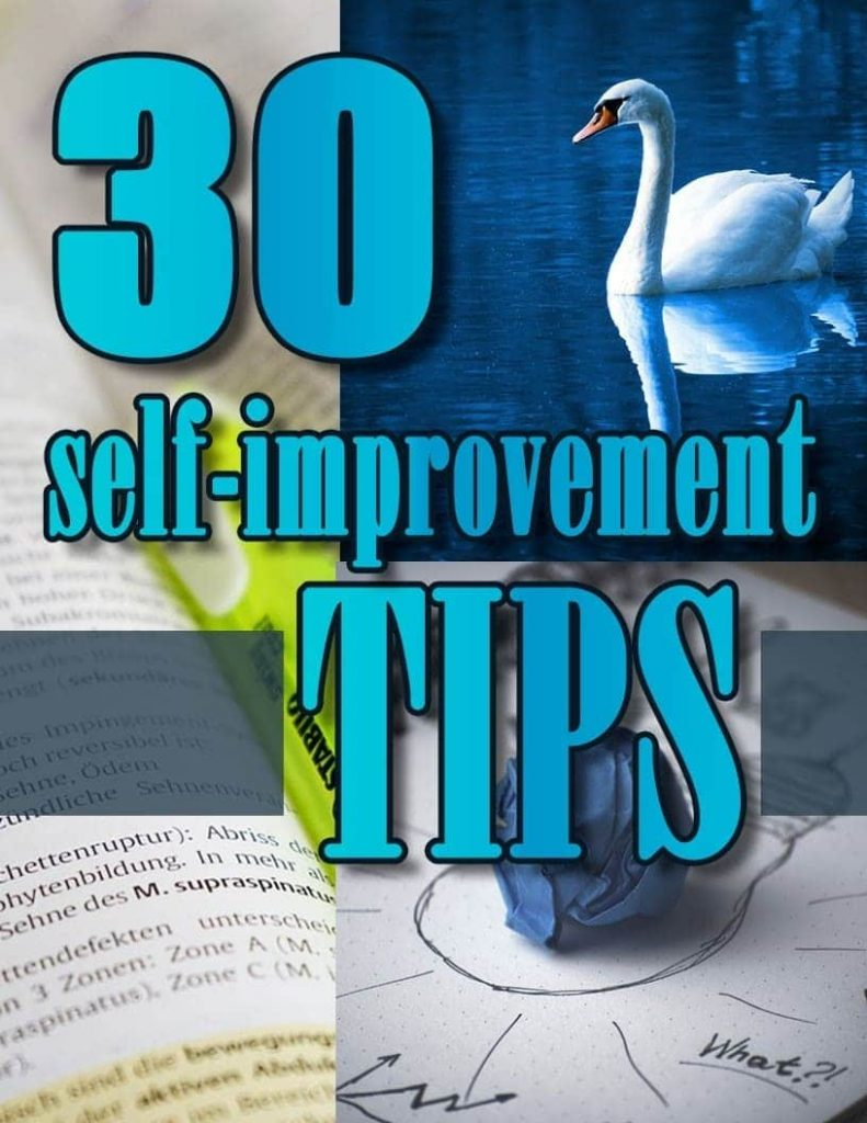 30 Self Improvement Tips