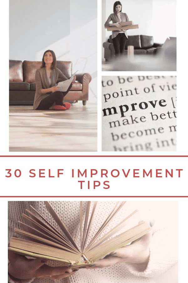 Everyone wants to be the best they can be. By following these 30 self-improvement tips, they will help you be more focused, energetic, and balanced. #selfcare #selfimprovement #metime via @wondermomwannab
