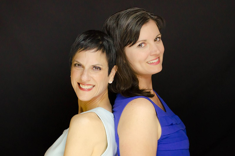 the two female authors of the book The Science of Parenthood