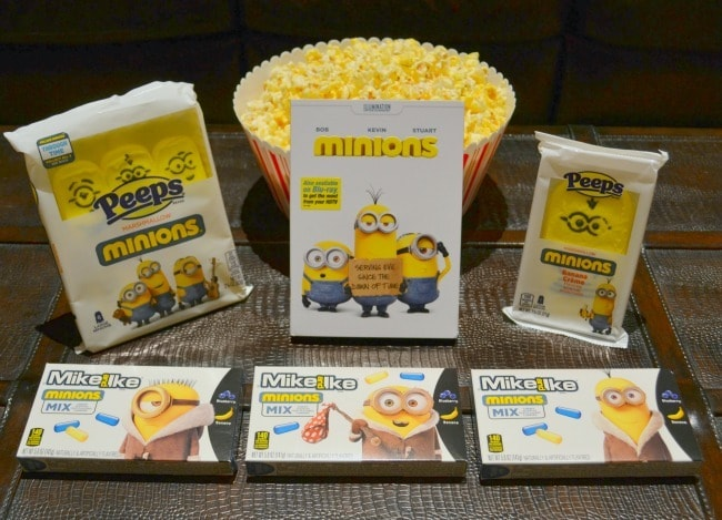 Minions movie night snacks