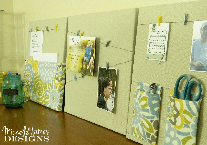 DIY Office Memo Boards