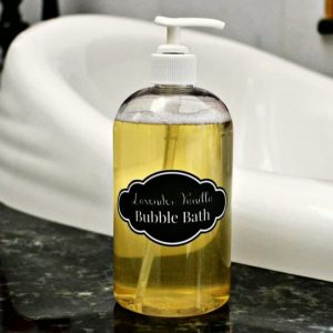 Natural Homemade Bubble Bath