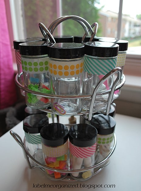 Rotating Spice Rack Office Organizer