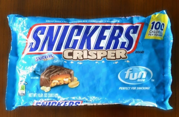 Bag of Snickers Crispers