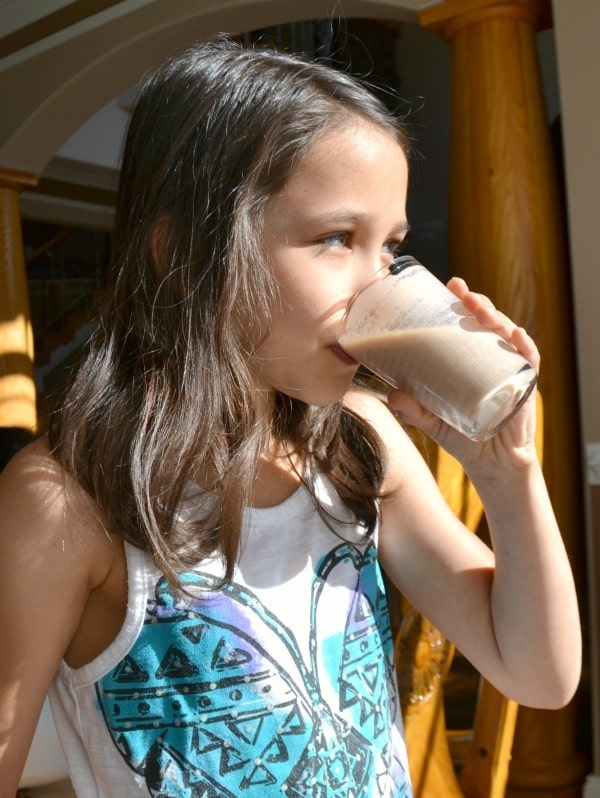 My daughter loves a chunky monkey milkshake as her recovery drink after she's been active