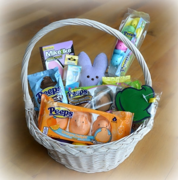Peeps Themed Easter Basket