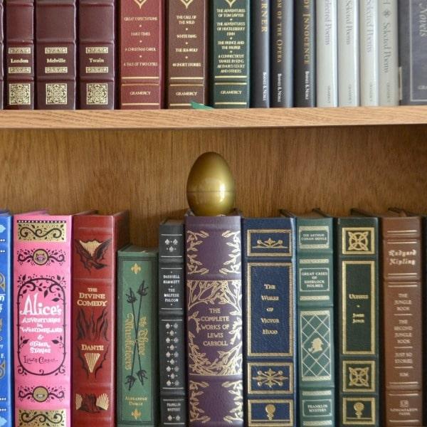 The golden egg hiding on the bookshelf