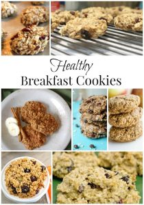 Healthy Breakfast Cookie Recipes
