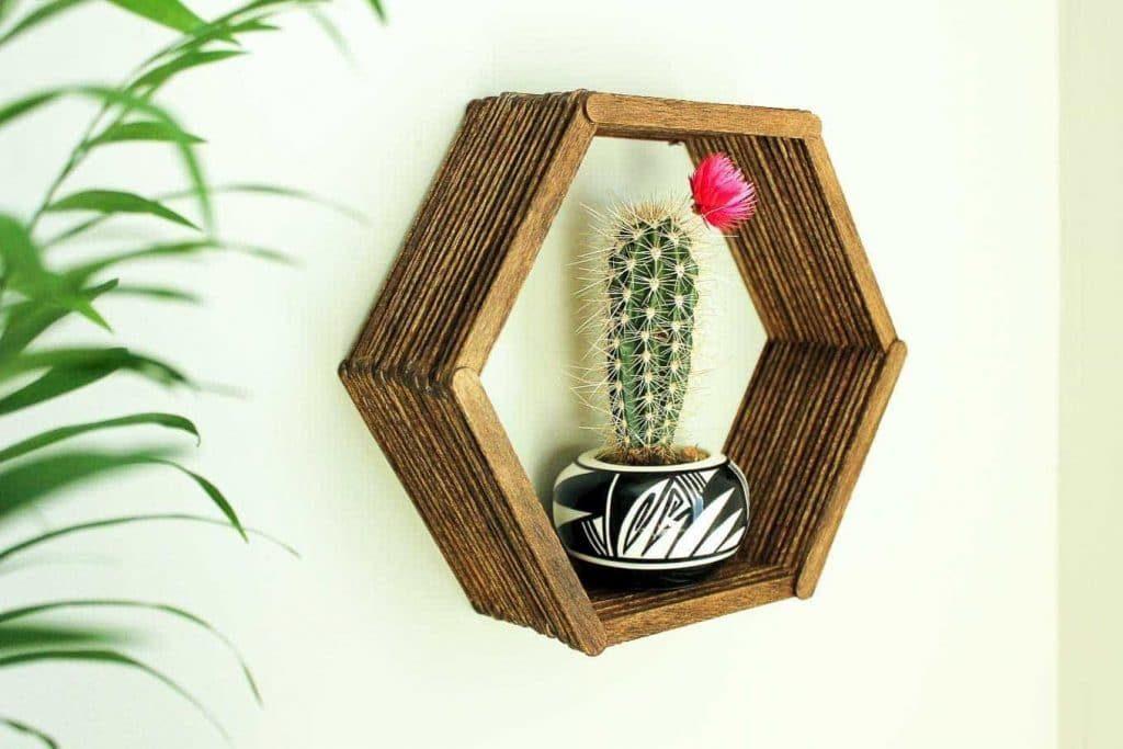 DIY-Hexagon-Shelf-Popsicle-Sticks-4