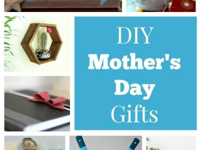 Collage of DIY Mother's Day gifts