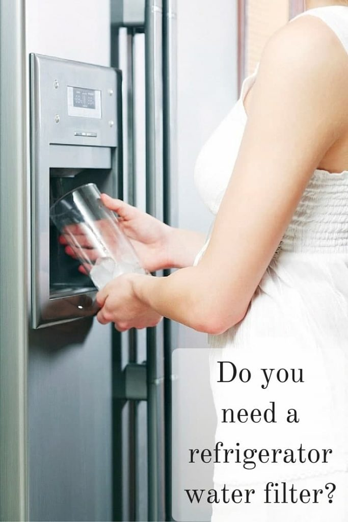 Do you need a refrigerator water filter-