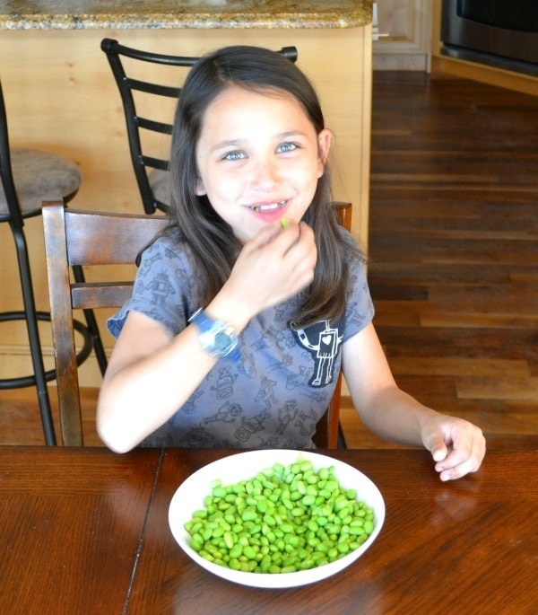 Edamame makes a great snack