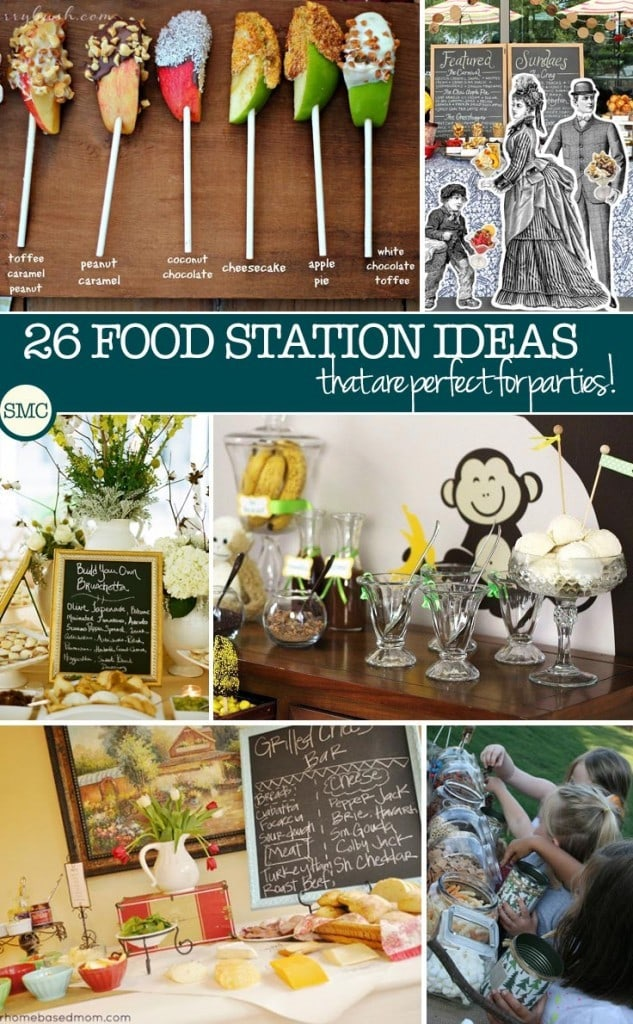 FoodStationIdeasforPartiesPinterest
