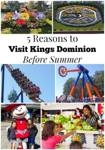 5 Reasons to Visit Kings Dominion Park BEFORE Summer