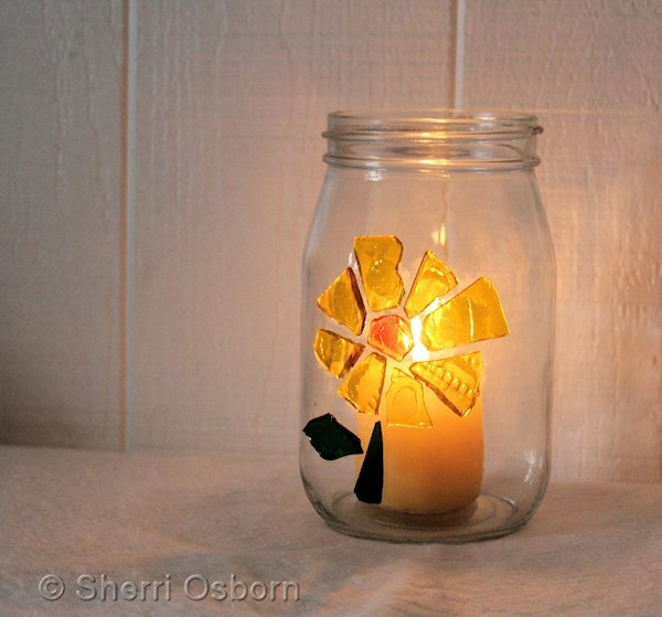 Stained-Glass-Candle-Holder