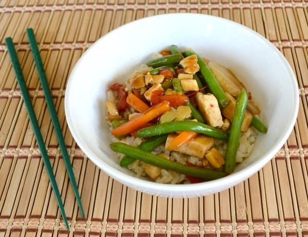 Tofu Teriyaki Dinner Bowl