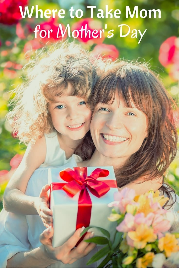 Mom spends a lot of time working on the house. Give her a break on Mother's Day and take her out. Here are some ideas of where to take mom for Mother's Day. #mothersday #formom #mothersdaygifts #forher via @wondermomwannab