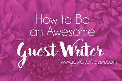 how to guest post