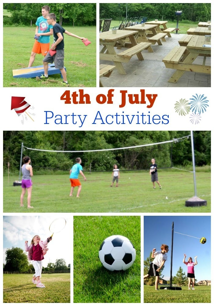 4th of July Party actives