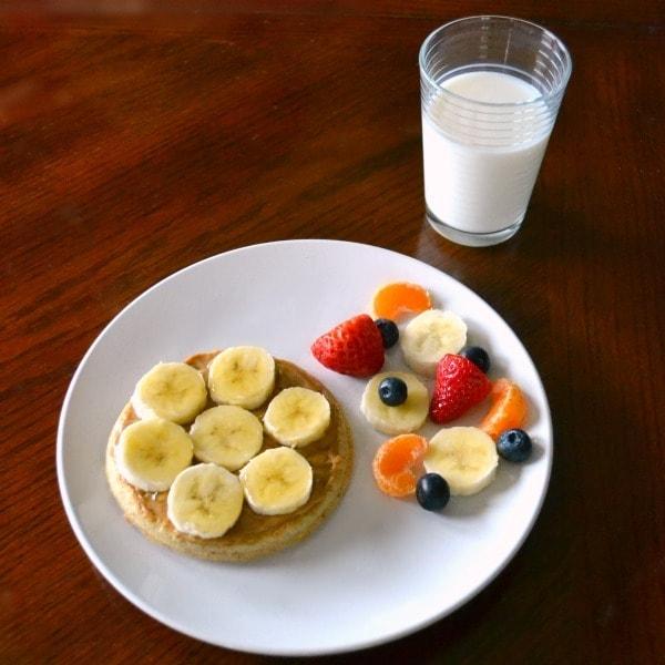 Banana Pizza Breakfast