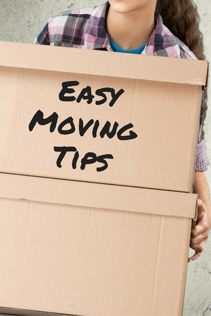 Moving can be stressful, exhausting and expensive. The easy moving tips will help eliminate a lot of those issues. #movingtips #moving via @wondermomwannab