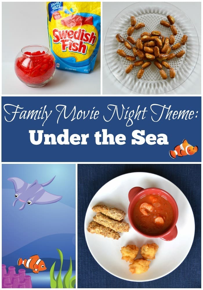 Family Movie Night Theme - Under the Sea