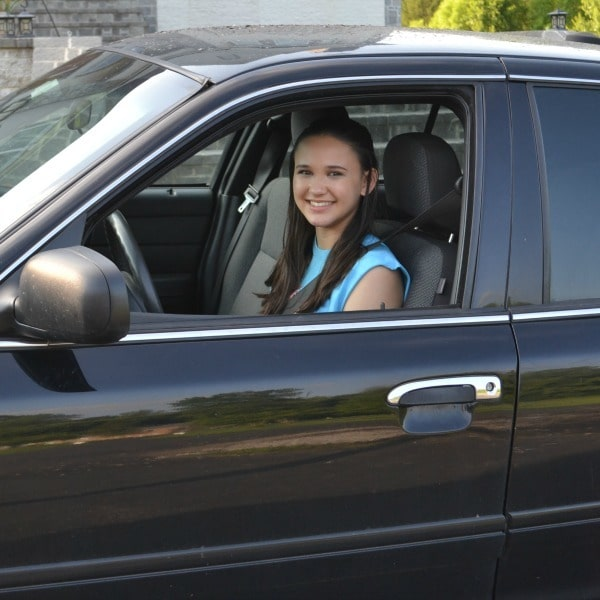 My second teen driver