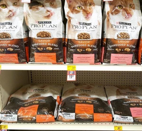 Purina Pro Plan Savor Shredded Blend Cat Food at PetSmart