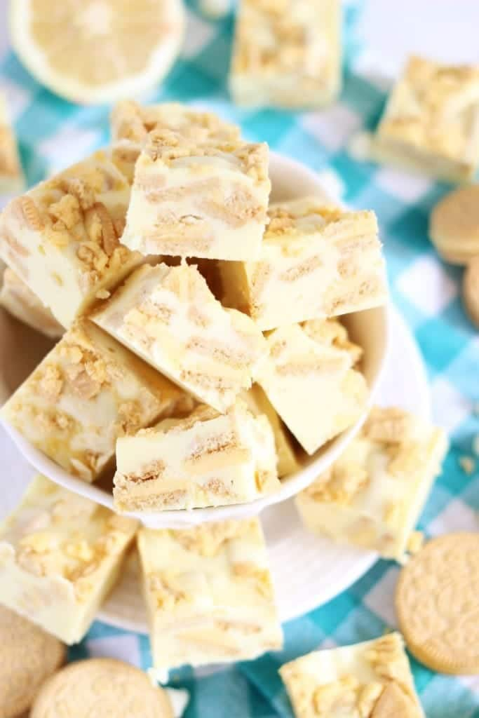 Lemon Cream Pie Fudge