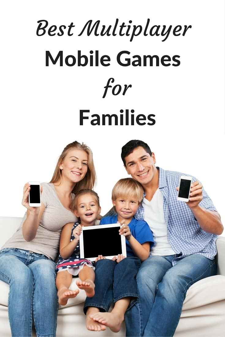 The multiplayer mobile games are perfect for players of all ages and will keep your family occupied AND engaged with each other anywhere.