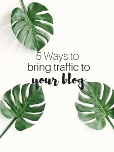 Bring-traffic-to-your-blog