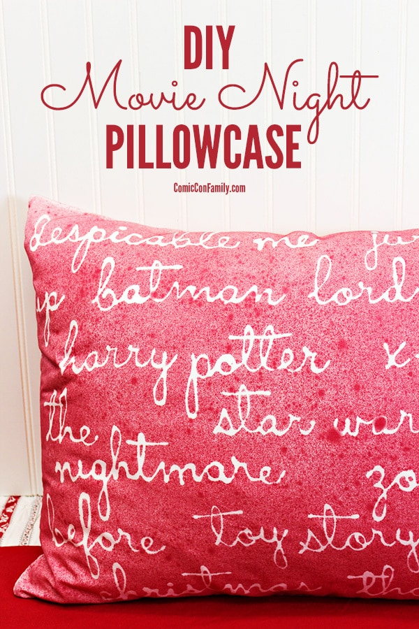 DIY-Movie-Night-Pillowcase-Craft-Idea-Hot-Glue-Stencils