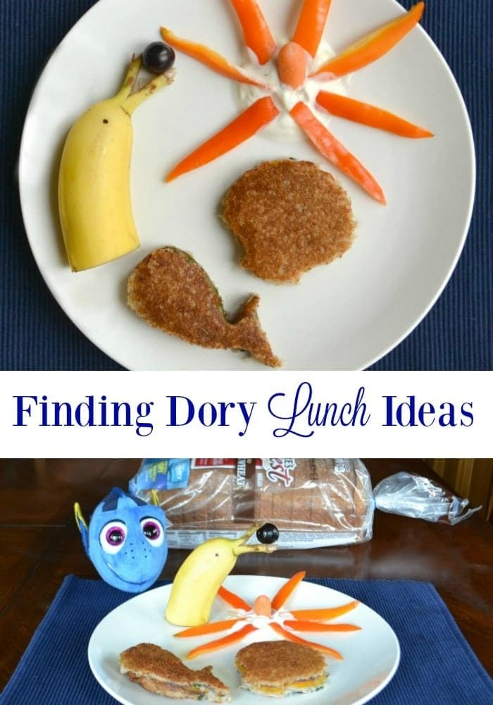 Finding Dory fans will love these lunch ideas so much they might not even realize how healthy they are!