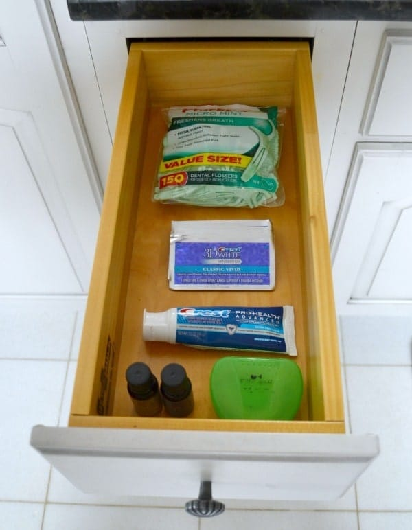 My dental hygiene drawer is often stocked with Crest 3D White Strips to counteract stains from my coffee addiction