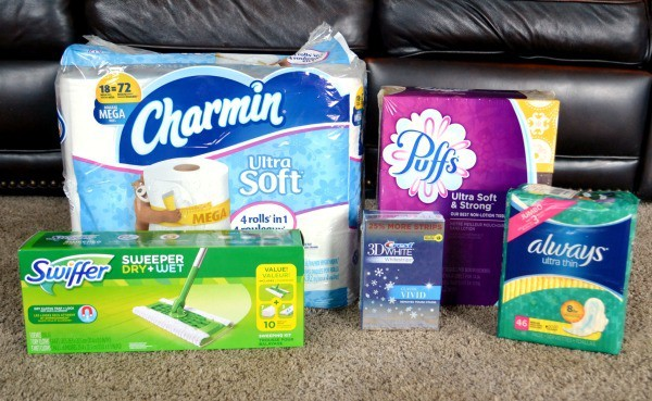 My latest stock delivery included items I use on a regular basis