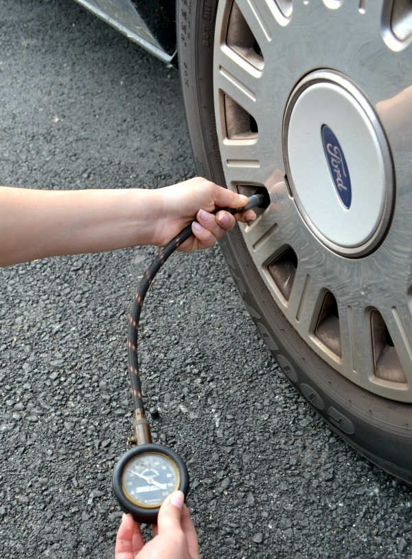 You should check tire pressure monthly