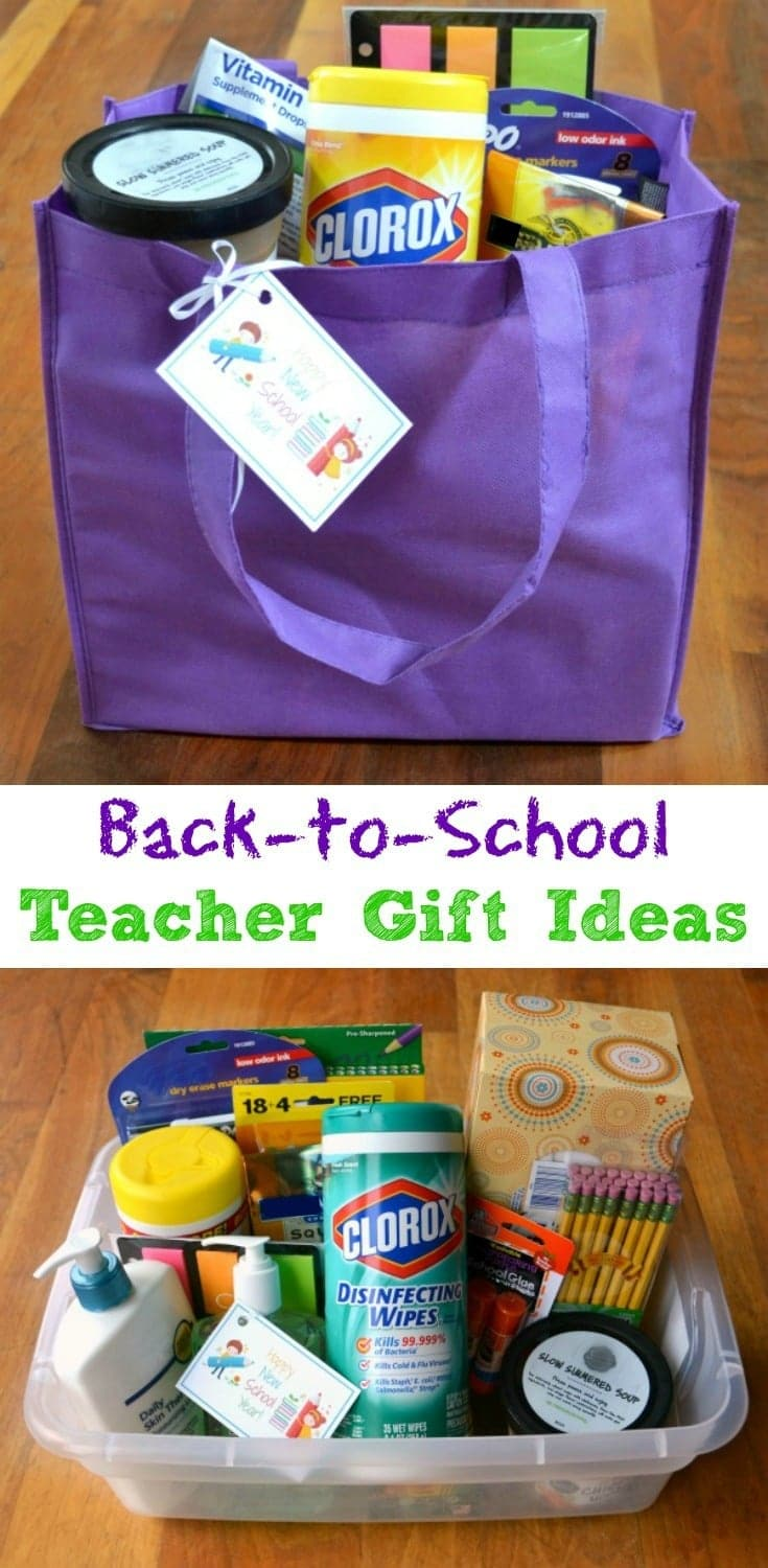Classroom Ideas Back To School ~ Back to school gift ideas for teachers