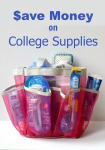 Save Money on College Supplies