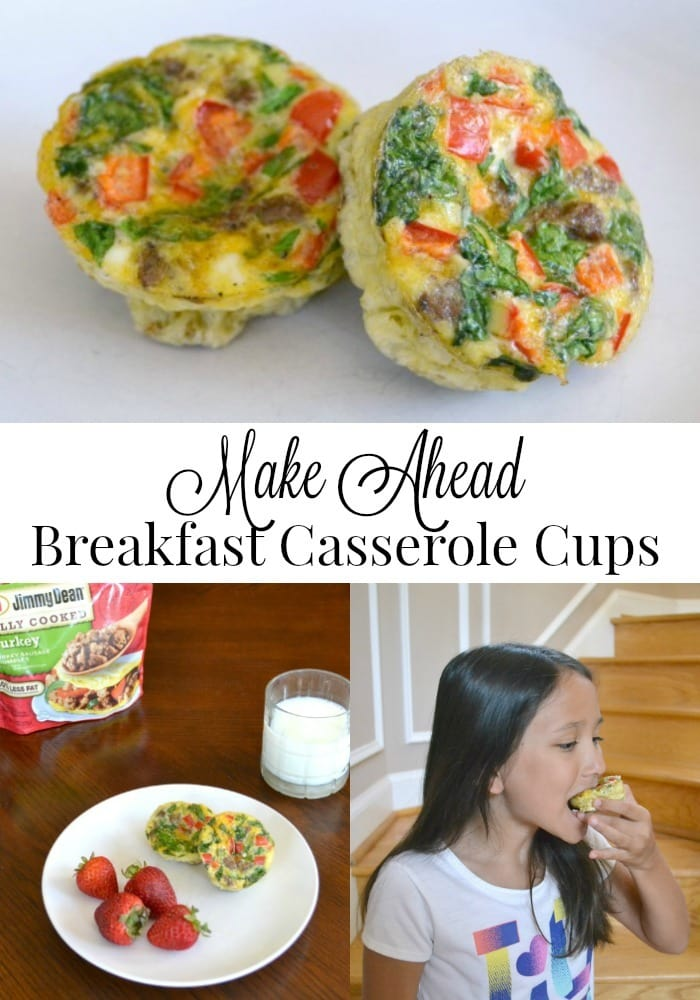 Make ahead breakfast casserole cups make it easy to fuel kids for a full day of school no matter how busy your mornings are