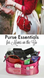 Purse Essentials List for Moms on the Go