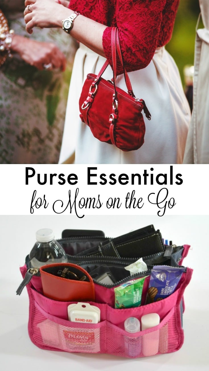 Make life easier and fend off minor catastrophes by making sure you've stocked your purse with these essential items for moms on the go