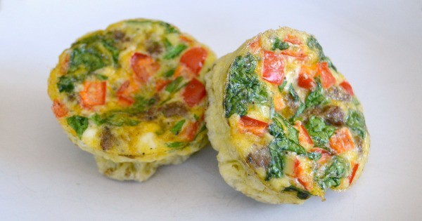 These make ahead breakfast casserole cups are an easy grab-and-go breakfast for busy mornings