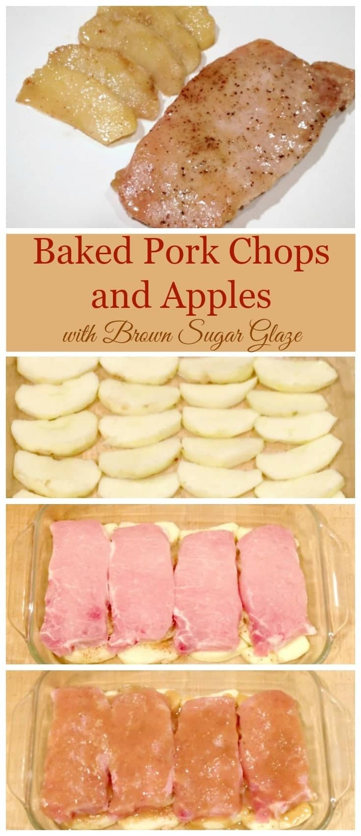 A simple dinner that kids will gobble up and beg you to make again! #porkchops #apples #easydinner via @wondermomwannab