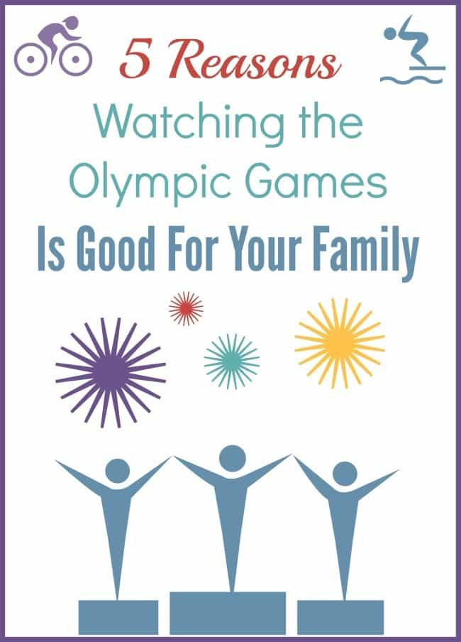 Watching the Olympic games as a family has several benefits. Find out what they are and how to make the most of them.