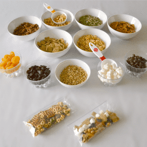 A Trail Mix Buffet Makes Healthy Snacking Fun For Kids
